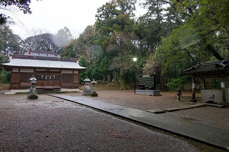 大宮神社境内