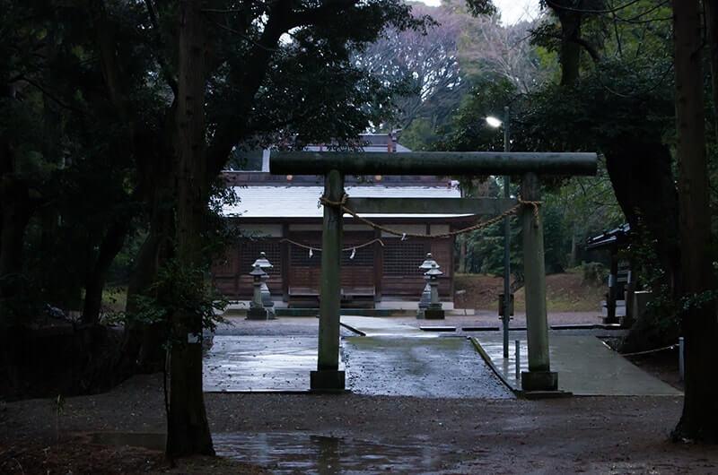 大宮神社の鳥居