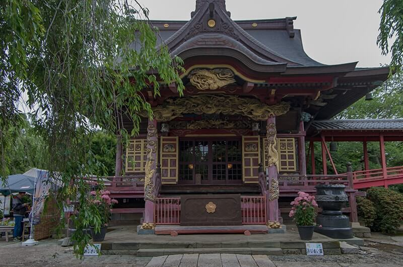桂岸寺本堂