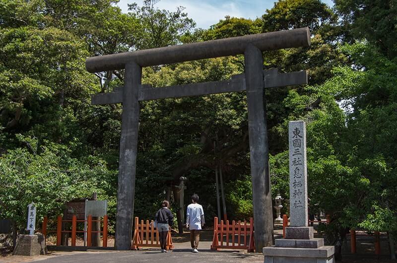 息栖神社二の鳥居