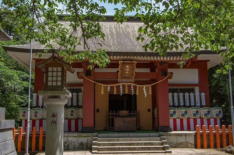 息栖神社社殿