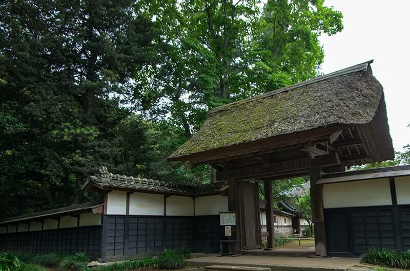 坂野家住宅の門