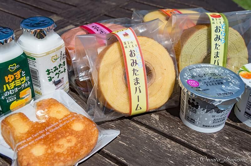 小美玉市の乳製品
