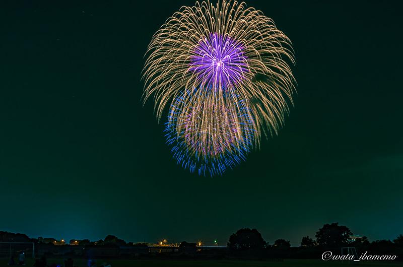 川島地区花火大会1