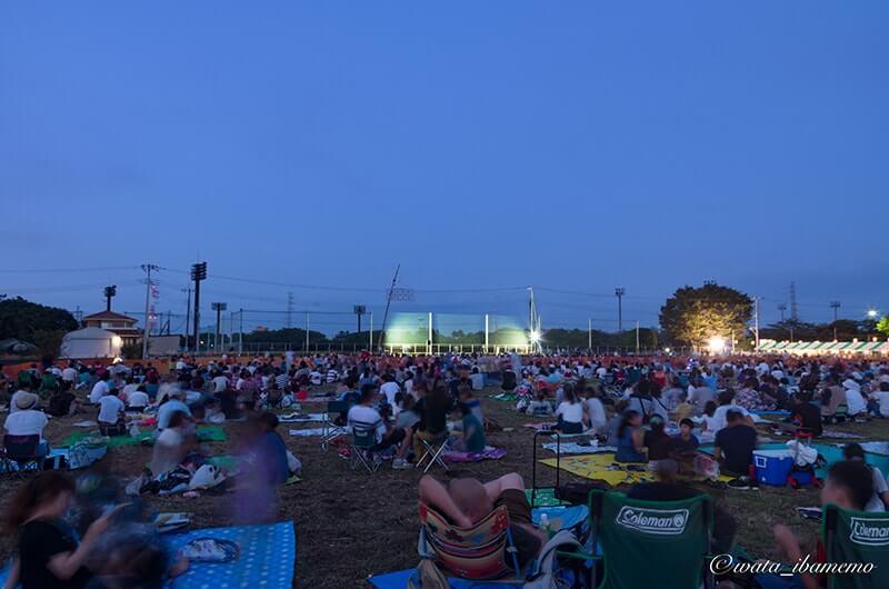 東海祭りの花火一般観覧席
