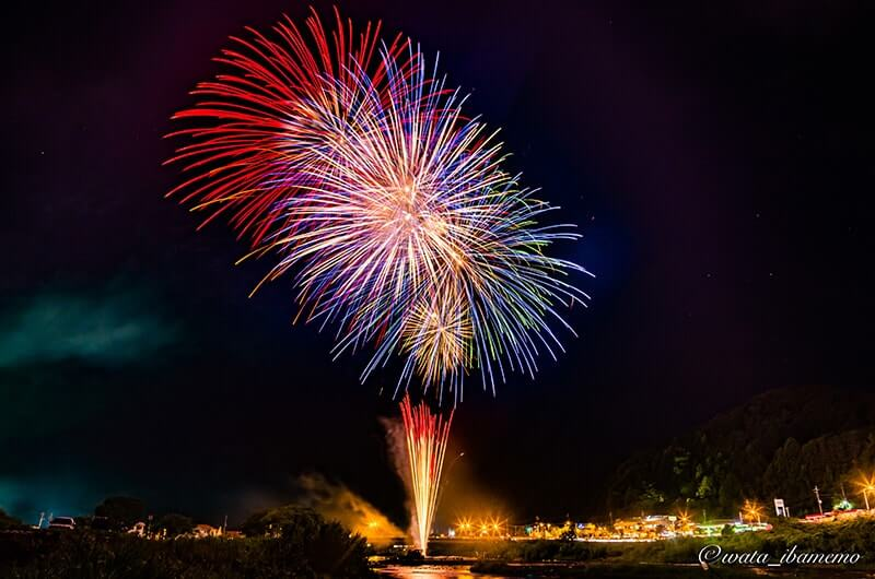 大子町の花火