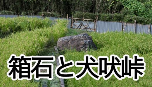 箱石と犬吠峠〜山方のミステリー(常陸大宮市)