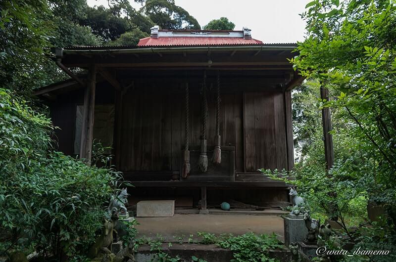 根本女化稲荷神社の社殿