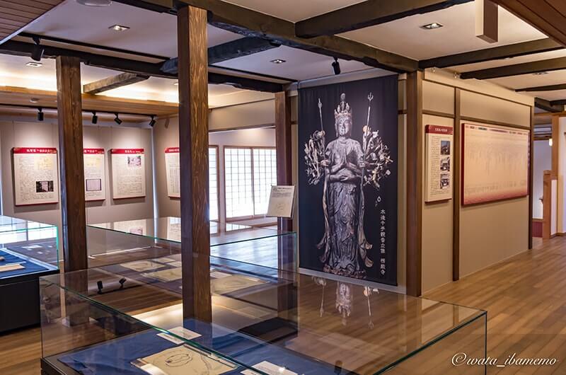 笠間の歴史の展示