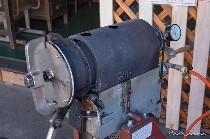 焼き栗製造機