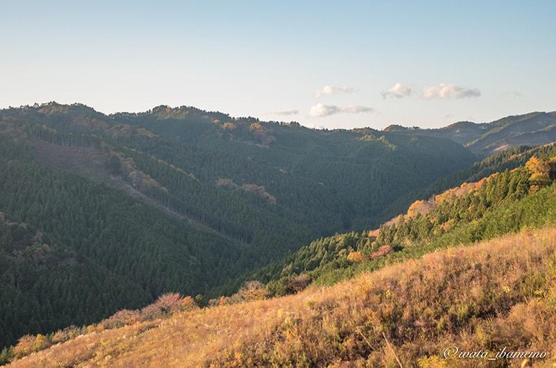 八溝山からの風景