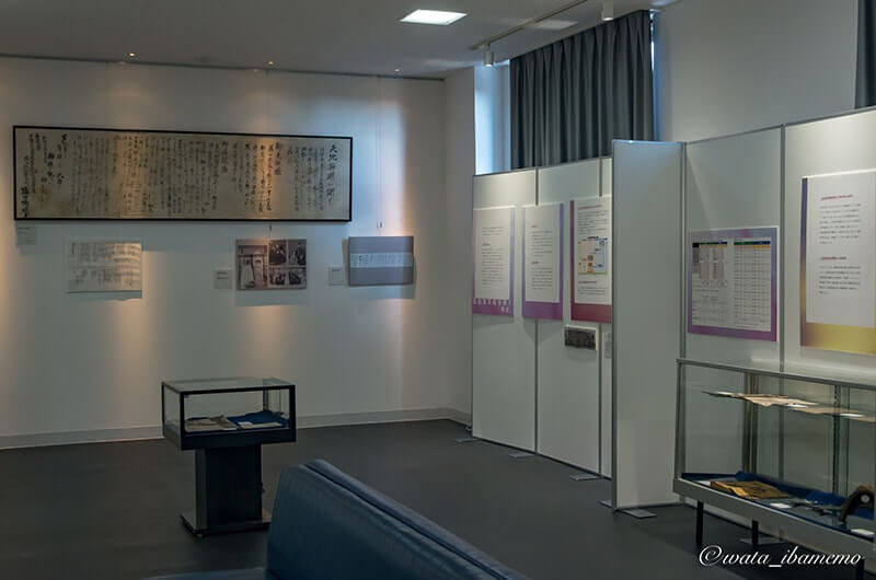 記念館2F展示
