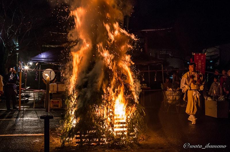 護摩の火柱