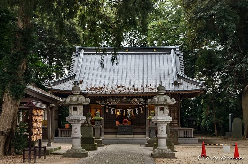 八坂神社社殿(拝殿)