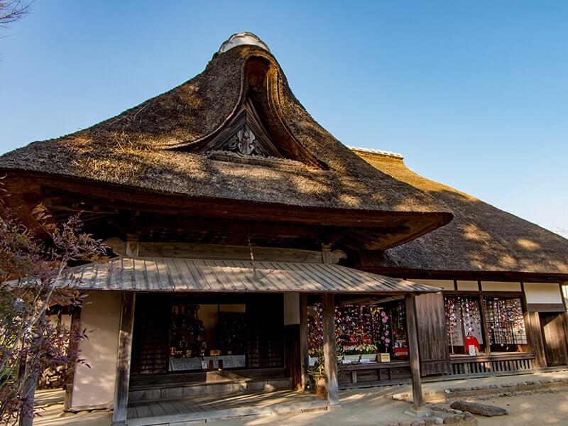 麻生藩家老屋敷の外観