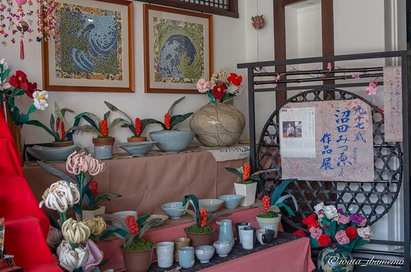 沼田みつゑさん(97歳)の展示