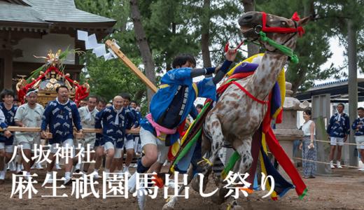 古宿の八坂神社〜麻生祇園馬出し祭り(行方市)