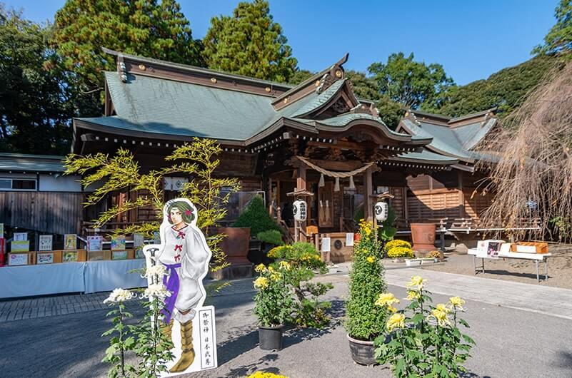 吉田神社境内