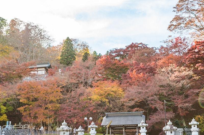 紅葉シーズンの永源寺