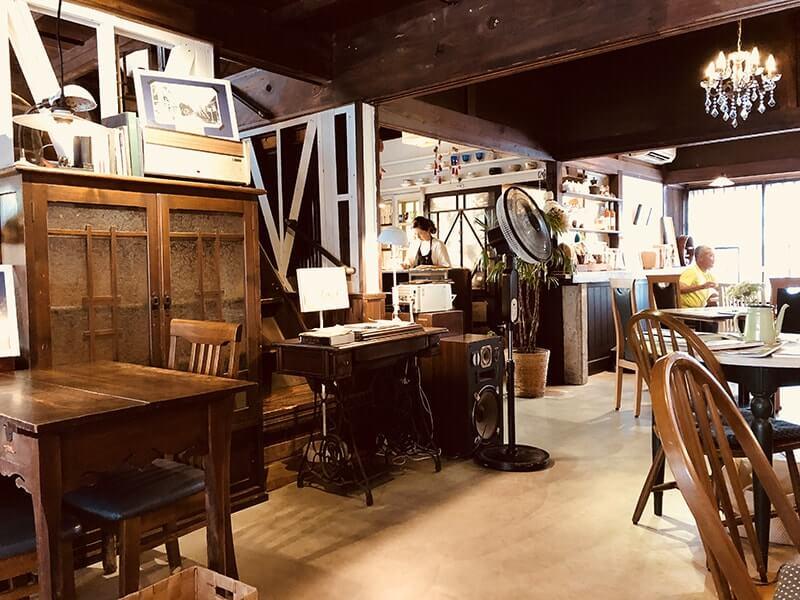 daigo cafe店内