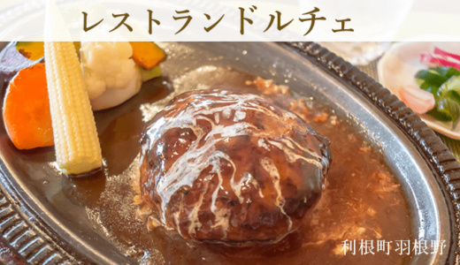 老舗のレストラン ドルチェ〜ハンバーグ・パスタ・ヨコハマDON!(利根町)
