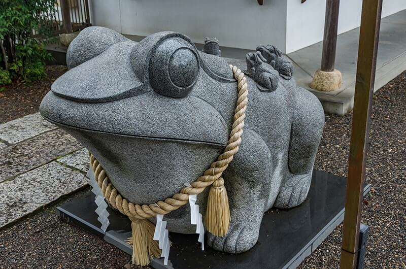 別雷皇太神の六福六蛙