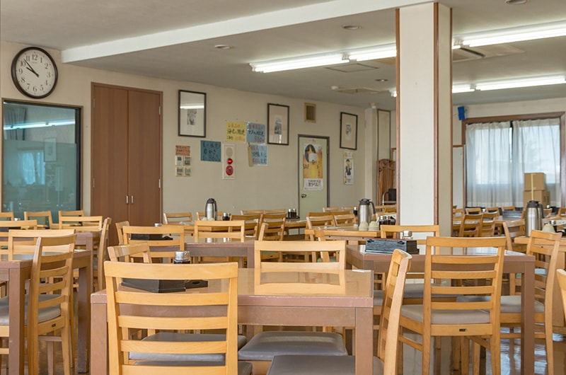 2階のレストラン内観
