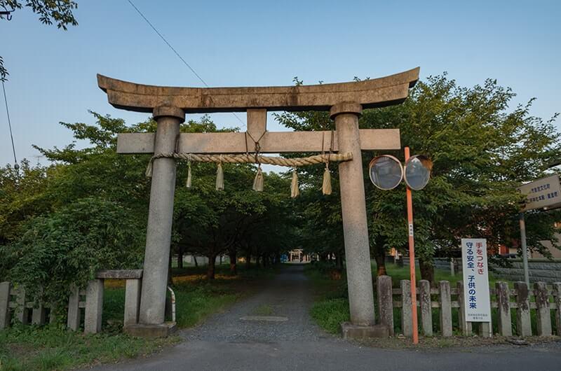 二所神社の一の鳥居