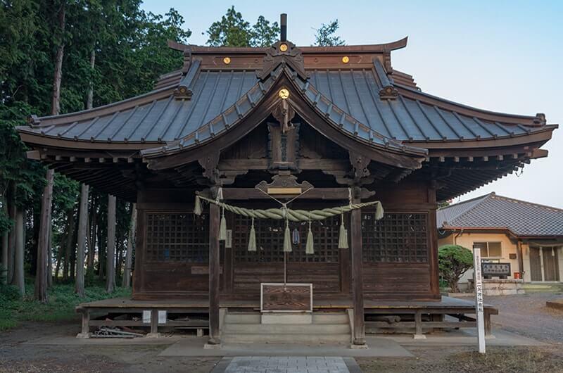 二所神社の社殿