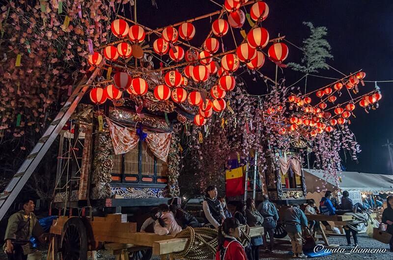 花室神社の山車