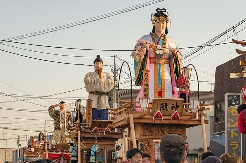 例祭の山車人形