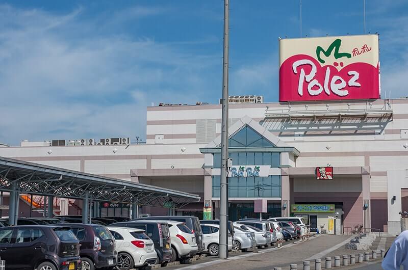 無料駐車場のポレポレ