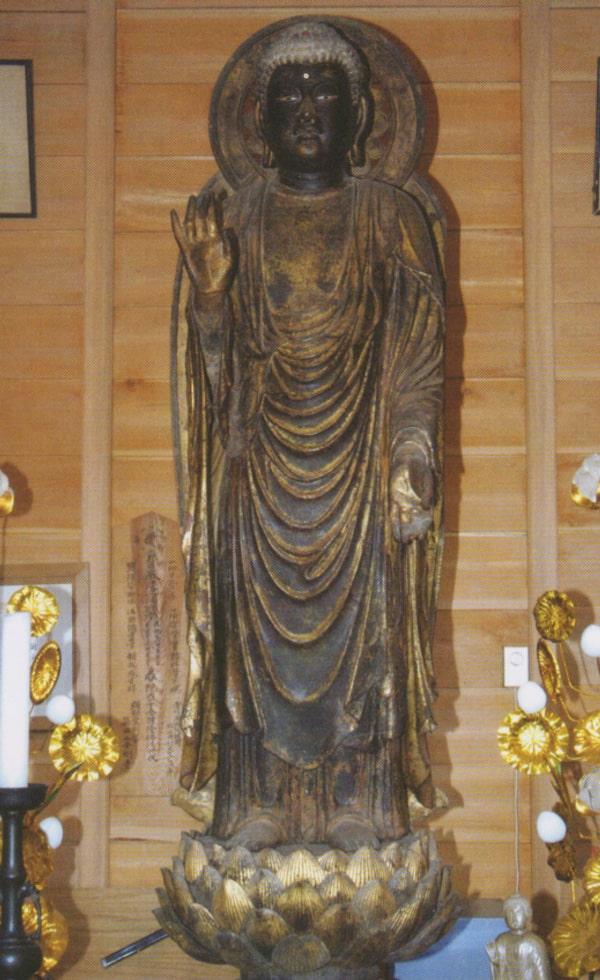 木造弥勒仏立像(国指定重要文化財)