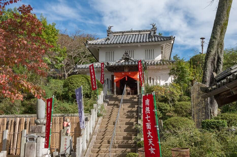 笠間城櫓(七面堂)