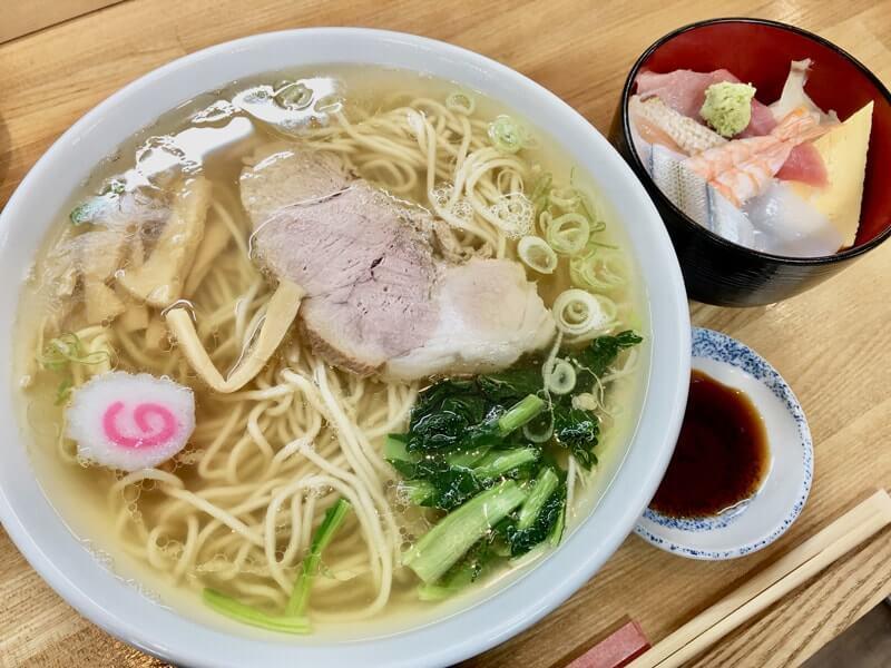 ラーメン&ミニ海鮮丼