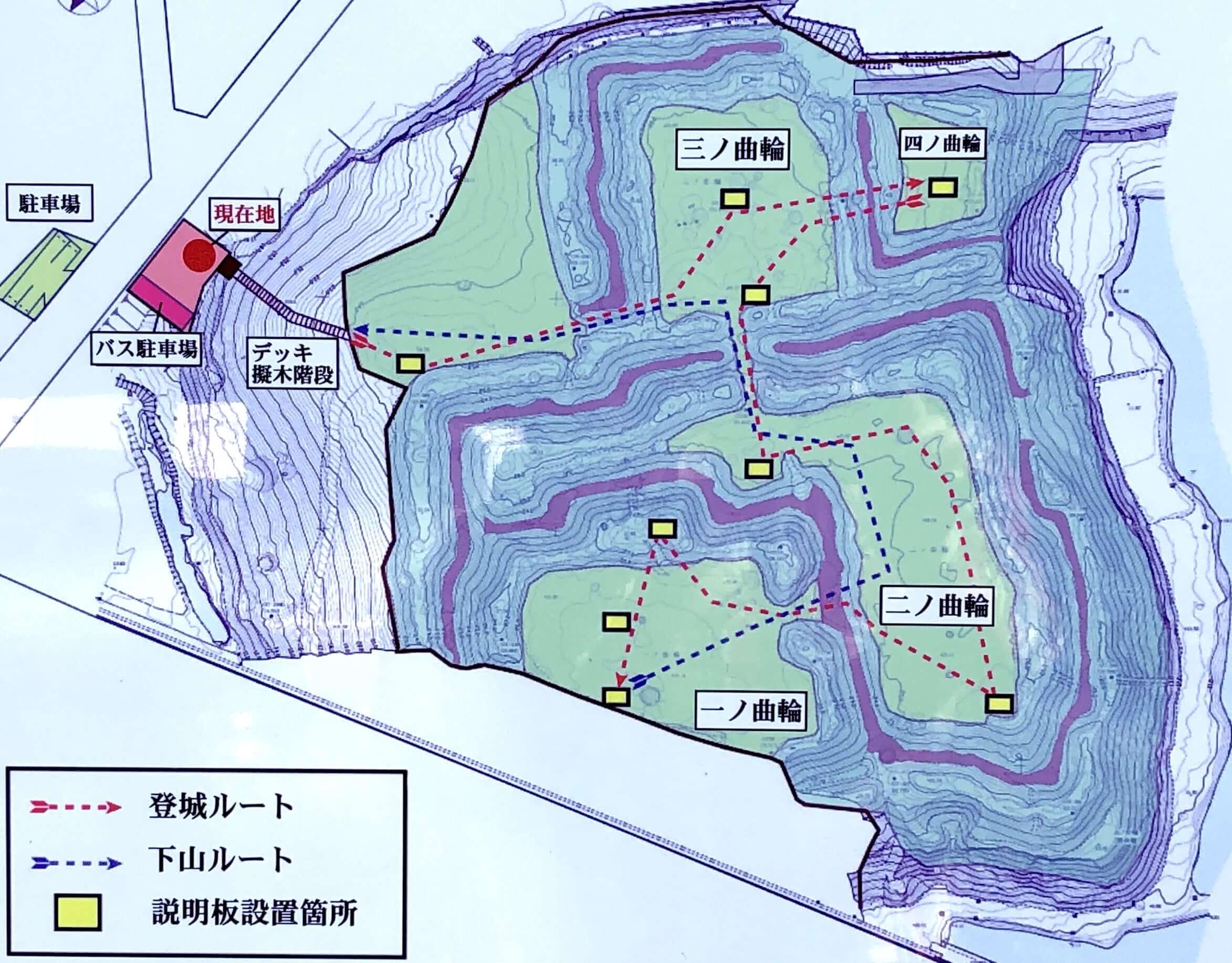 城跡マップ
