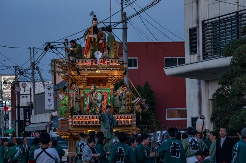 応神天皇の山車人形(上町)