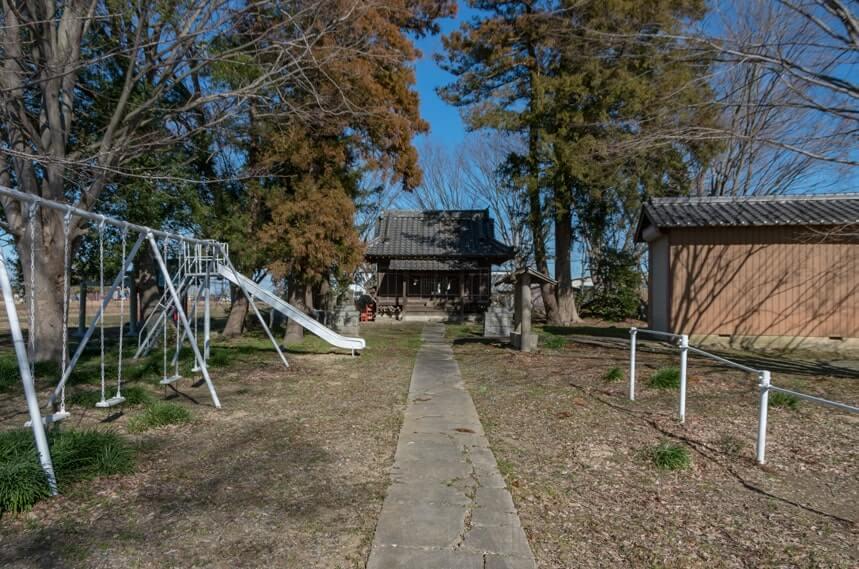 香取神社の参道