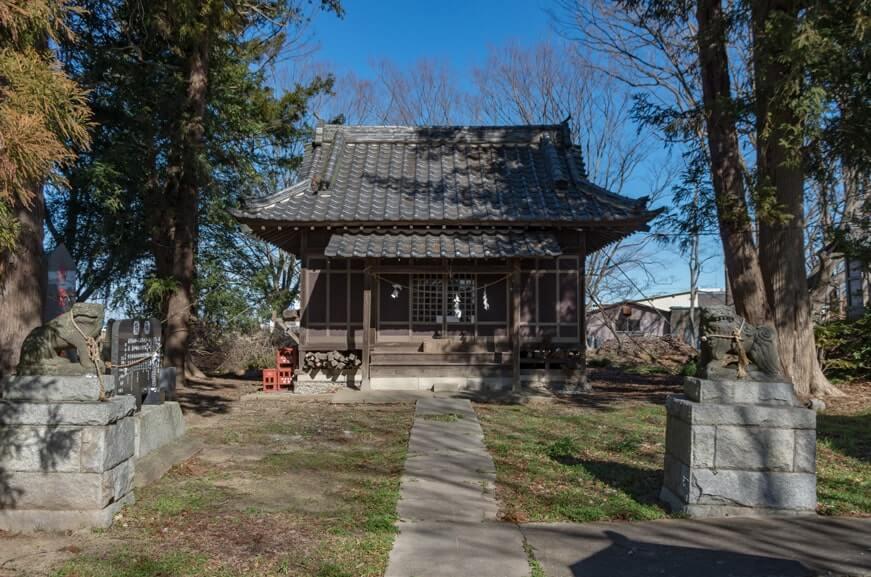 香取神社の拝殿