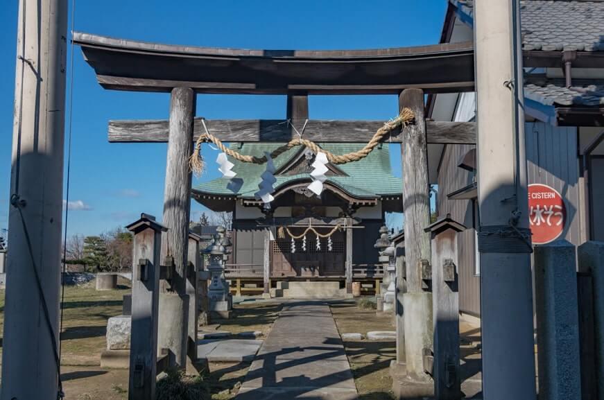 甲神社の鳥居