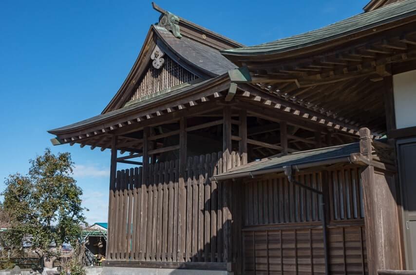 甲神社の本殿