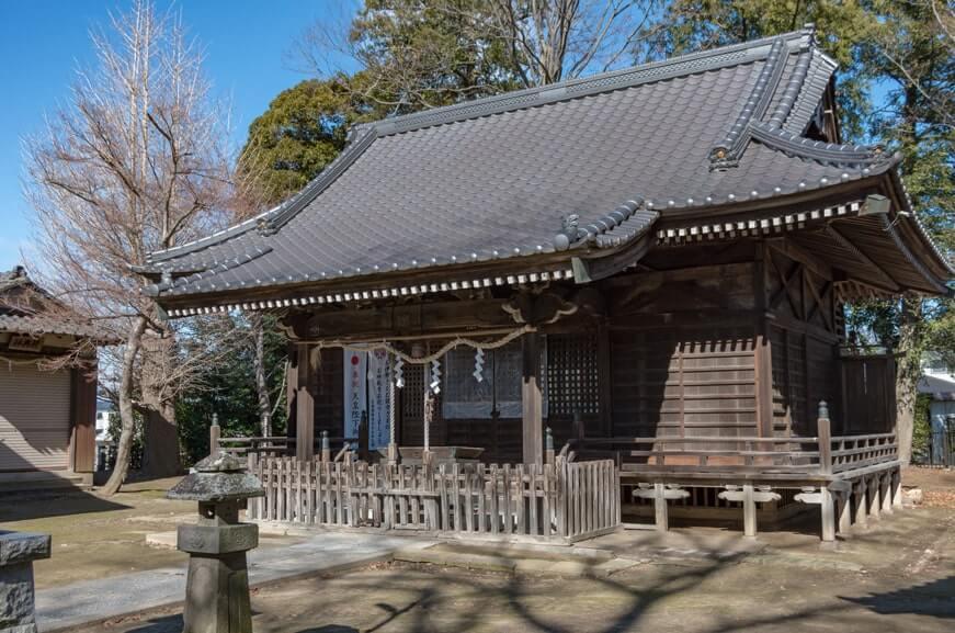 宗道神社の拝殿