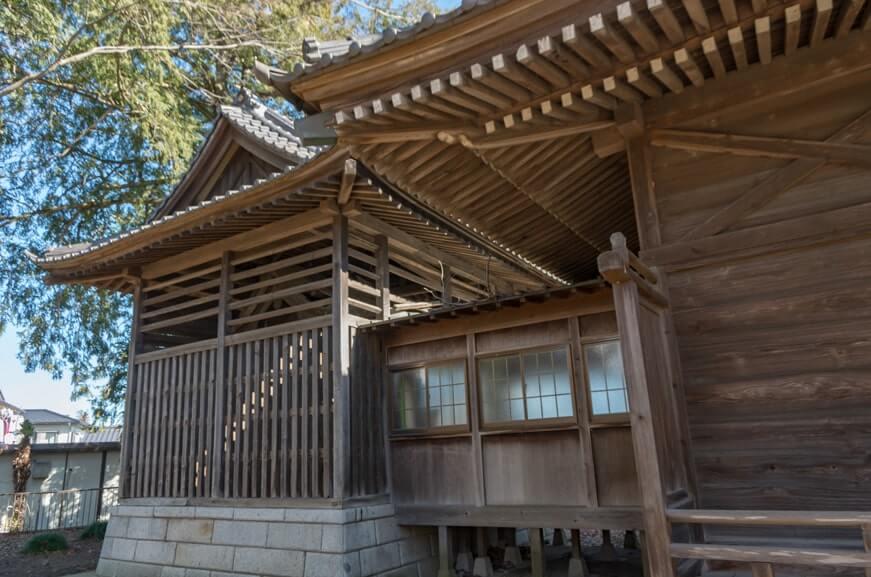 宗道神社の本殿