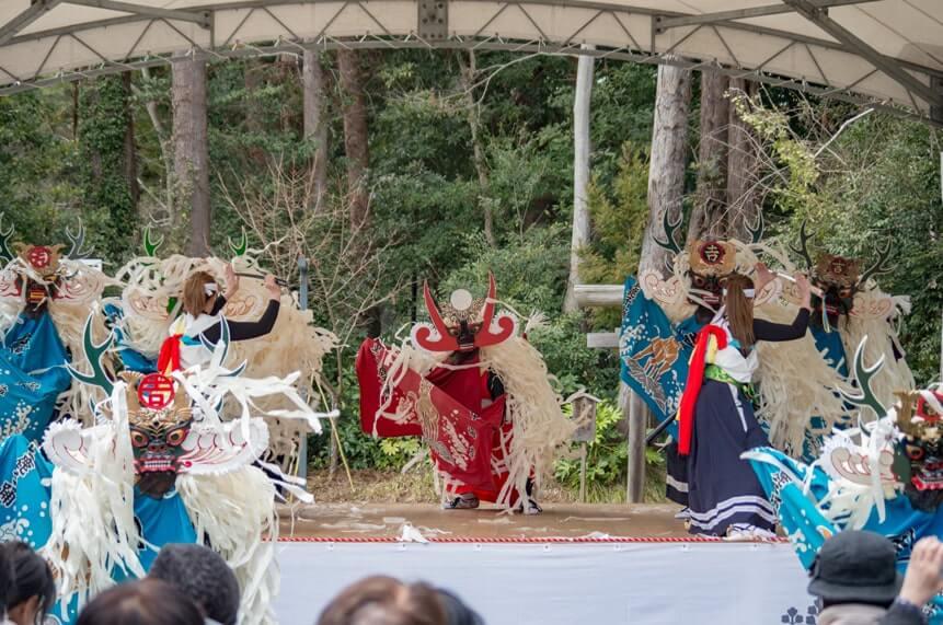吉里吉里鹿子踊り