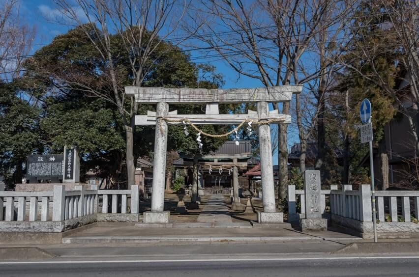 宗道神社の鳥居
