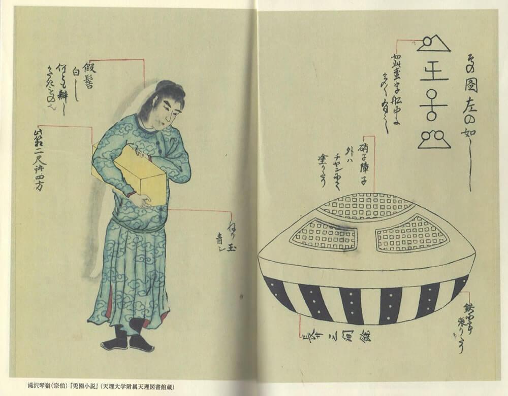 兎園小説の挿し絵
