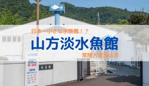 日本一小さな水族館!?山方淡水魚館(常陸大宮市)