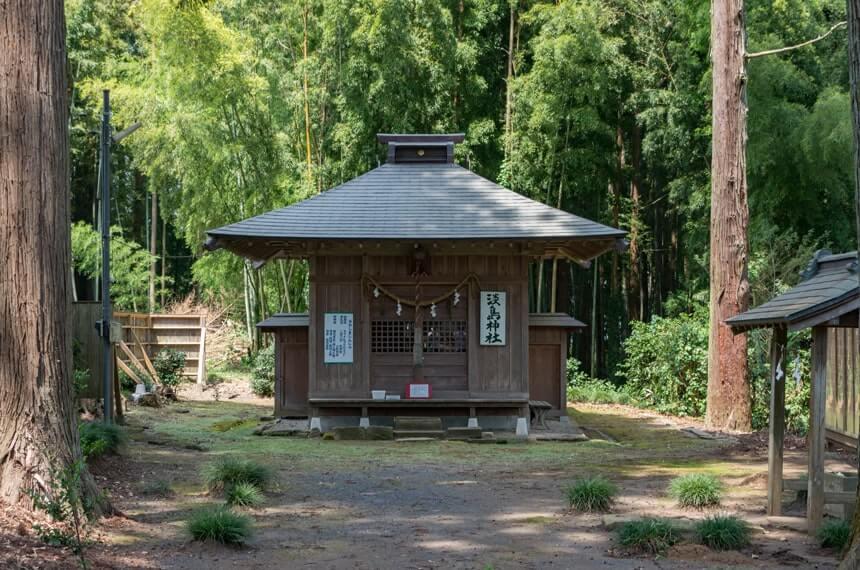 淡島神社の拝殿