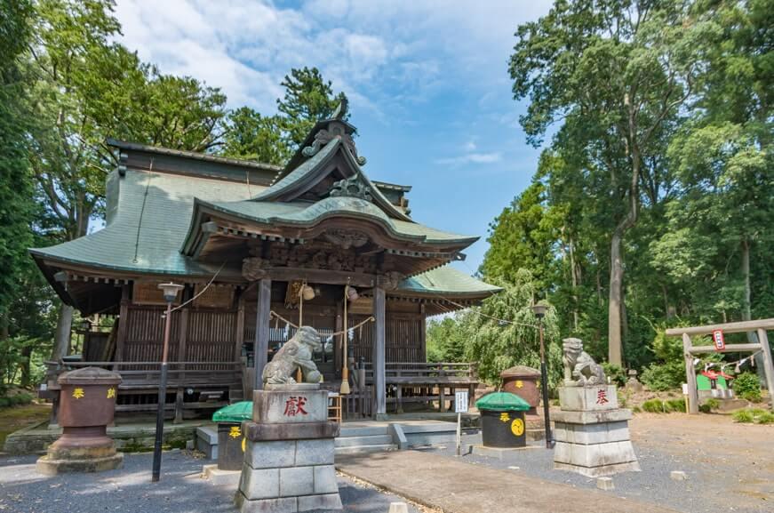 鹿嶋八幡神社(額田神社)