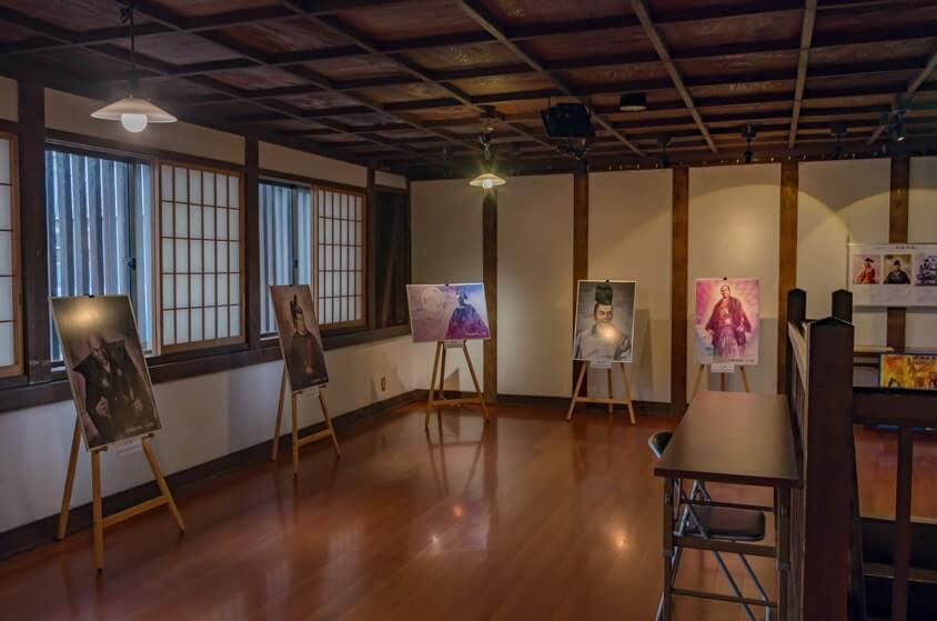 大徳2Fの展示スペース